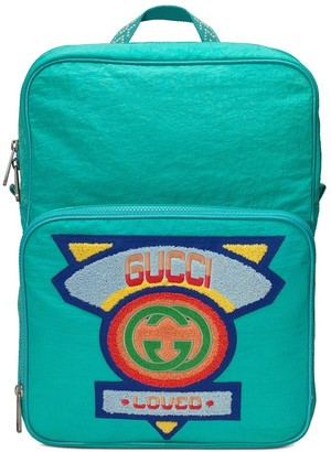 Gucci Medium backpack with '80s patch