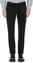 Barena Venezia Men's Twill Skinny Trousers-Black