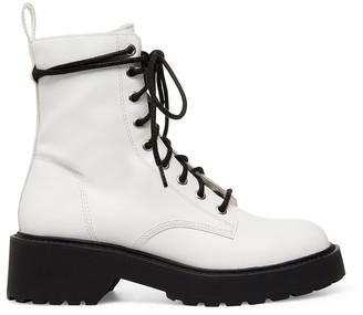 Steve Madden Tornado White Leather