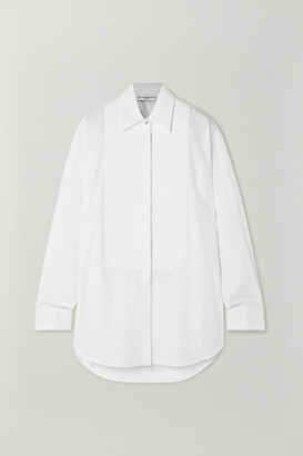 Givenchy Crystal-embellished Cotton-poplin Shirt - White