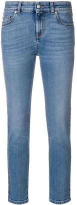 Alexander McQueen cropped skinny jeans