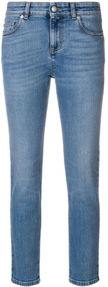 Alexander McQueen Cropped Skinny Jeans