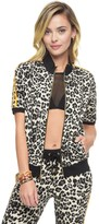 Juicy Couture Tangier Leopard Short Sleeve Jacket