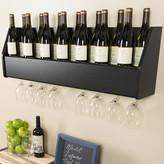 Prepac Floating 18 Bottle Wall Mounted Wine Rack