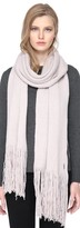 Soia & Kyo CATYANNA long scarf with fringe in putty