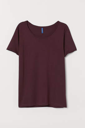 H&M Low-necked T-shirt