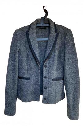 Esprit Anthracite Wool Jacket for Women