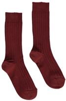 Caramel Baby & Child Ribbed Socks