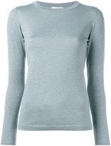 Brunello Cucinelli metallic effect jumper - women - Silk/Polyamide/Cashmere/Metallized Polyester - S