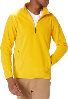 Amazon Essentials Men's Standard Quarter-Zip Polar Fleece Jacket