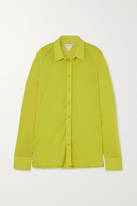 Bottega Veneta Jersey Shirt - Bright yellow