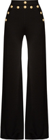 Balmain Wide-leg knitted trousers