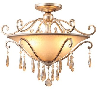 Avon Astoria Grand 3-Light Semi Flush Mount Astoria Grand
