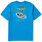 Tommy Bahama What's Yacht To Like Short-Sleeve Graphic Tee