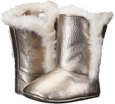 Baby Deer Boot Crinkle Patent (Infant)