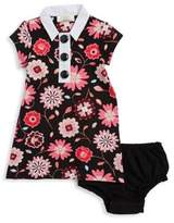 Kate Spade Baby's Two-Piece Collared Shift Dress & Bloomer Set