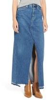A Gold E Women's Agolde 'Piper' Denim Maxi Skirt