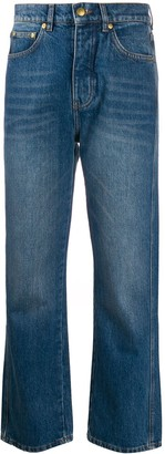 Victoria Victoria Beckham high rise stonewashed jeans