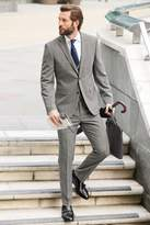 Mens Next Charcoal Tailored Fit Travel Suit: Trousers