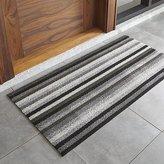 "Crate & Barrel Chilewich ® Mineral Striped 24""x48"" Doormat"