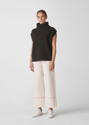 Polo Neck Tunic Knit