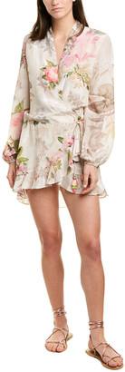Rococo Sand Crossover Mini Dress