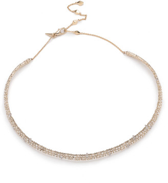 Alexis Bittar Encrusted Spiked Choker Necklace