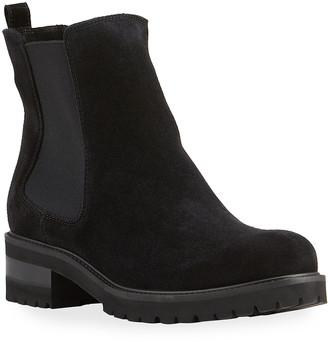La Canadienne Connor Waterproof Suede Chelsea Boots
