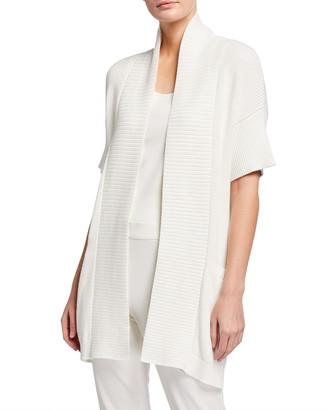 Beijing Textured Knit Kimono Cardigan