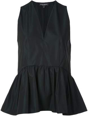 Narciso Rodriguez V-neck peplum top
