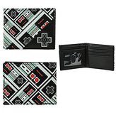 Bioworld Nintendo Controllers Bi-Fold Wallet