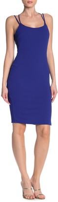 Threads And States Cross Back Scuba Crepe Dress