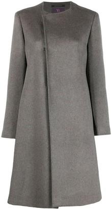 Y's Wool-Blend Coat