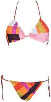 Emilio Pucci Reversible Print Bikini