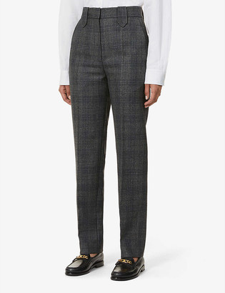 Sandro Anthena regular-fit high-rise woven trousers