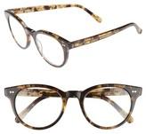 Corinne McCormack Women's Abby 50Mm Reading Glasses - Dark Tortoise