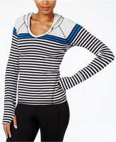 Calvin Klein Striped Hooded Top
