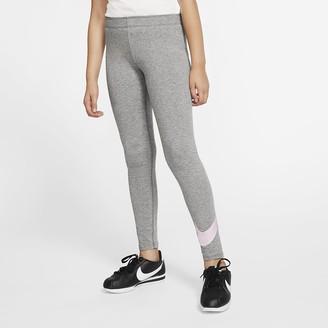 Nike Big Kids' (Girls') Leggings Sportswear Favorites