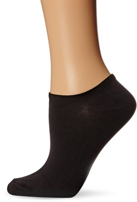 Hue Women's Microfiber Liner Sock 6-Pack