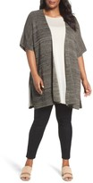 Eileen Fisher Plus Size Women's Tencel Knit Kimono Cardigan