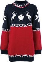 DSQUARED2 intarsia knitted dress - women - Polyamide/Wool/Alpaca - S