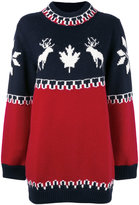 DSQUARED2 intarsia knitted dress - women - Wool/Alpaca/Polyamide - S
