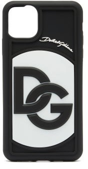 Dolce & Gabbana Logo-embossed Iphone 11 Pro Phone Case - Black White