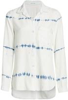 Bella Dahl Tie Dye Stripe Shirt