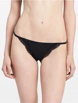 Calvin Klein Sheer Marquisette Lace String Bikini
