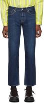 Moussy Vintage Blue Concordia Straight Jeans