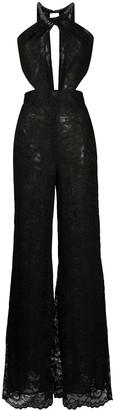 Dundas Lace Wide-Leg Jumpsuit