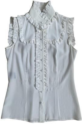 Derek Lam White Silk Top for Women