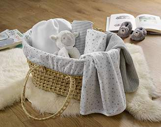 Clair De Lune My First Sleep Moses Gift Basket - Blue