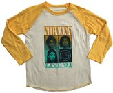Rowdy Sprout Youth Nirvana Raglan Tee